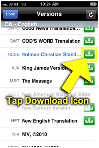 Tap Download Icon