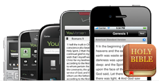 YouVersion on a range of mobile devices