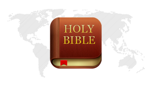 The Bible App™ Icon (with map)