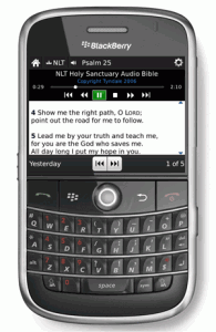 Audio has come to the Bible App™ for BlackBerry