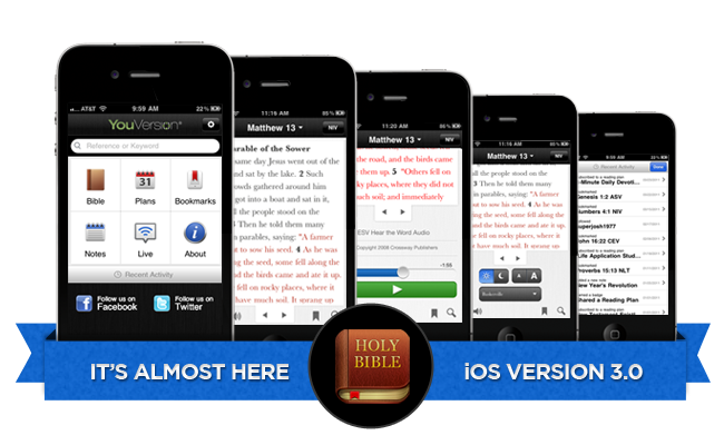 V. 3.0 of the Bible App™ for iOS is almost here!