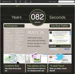 YouVersion King James Version Event Page (in progress)