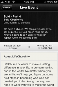 Updated YouVersion Live Interface in the Bible App™