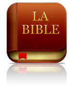 Française Bible App™ Icône