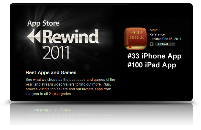iTunes App Store Rewind 2011 and the Bible App™