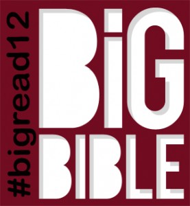 #BigRead12 from the Big Bible Project