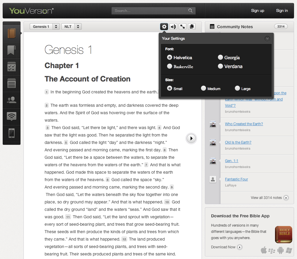 Bible Reading Made Easier than Ever by All-New YouVersion