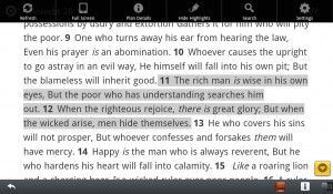 The Bible App for BlackBerry Playbook