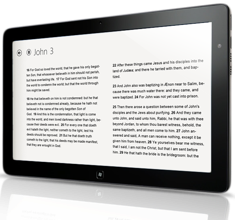 The Bible App™ for Windows 8 on Samsung Slate