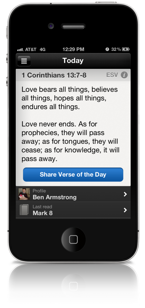 Free offline bible for your iPhone or iPod Touch - free