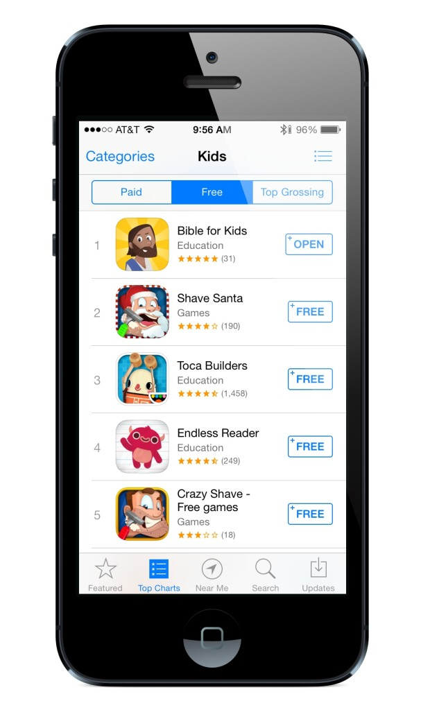 Bible App for Kids at #1