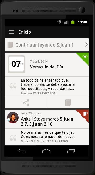 ¿Qué Puedo Hacer con la Biblia App 5?