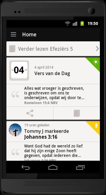 Wat kan ik doen met de Bijbel App 5?
