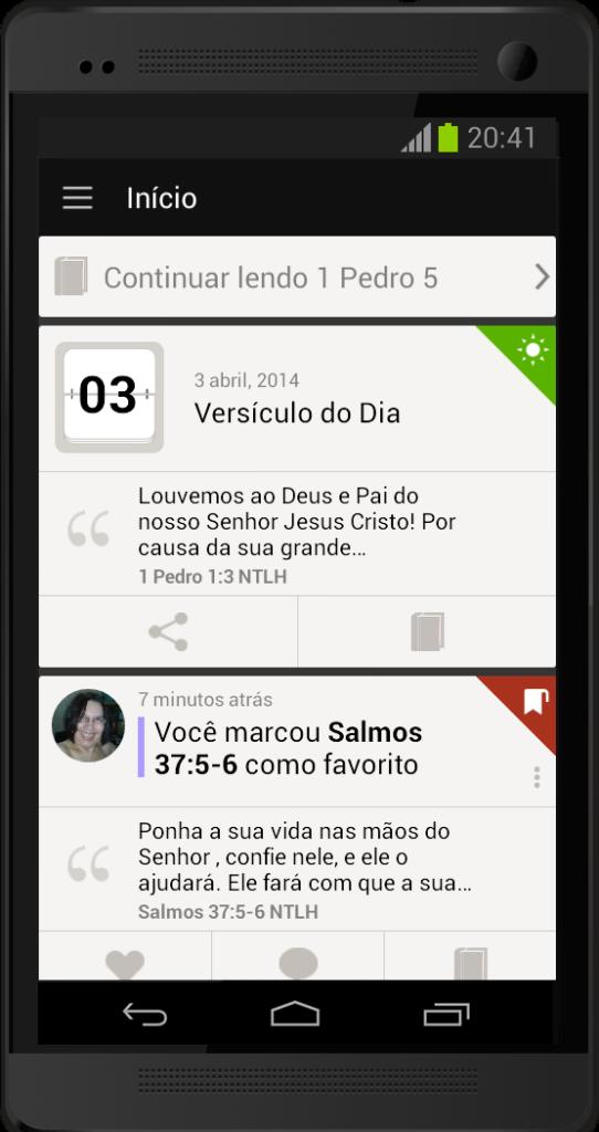 O Que Posso Fazer com o App da Bíblia 5?