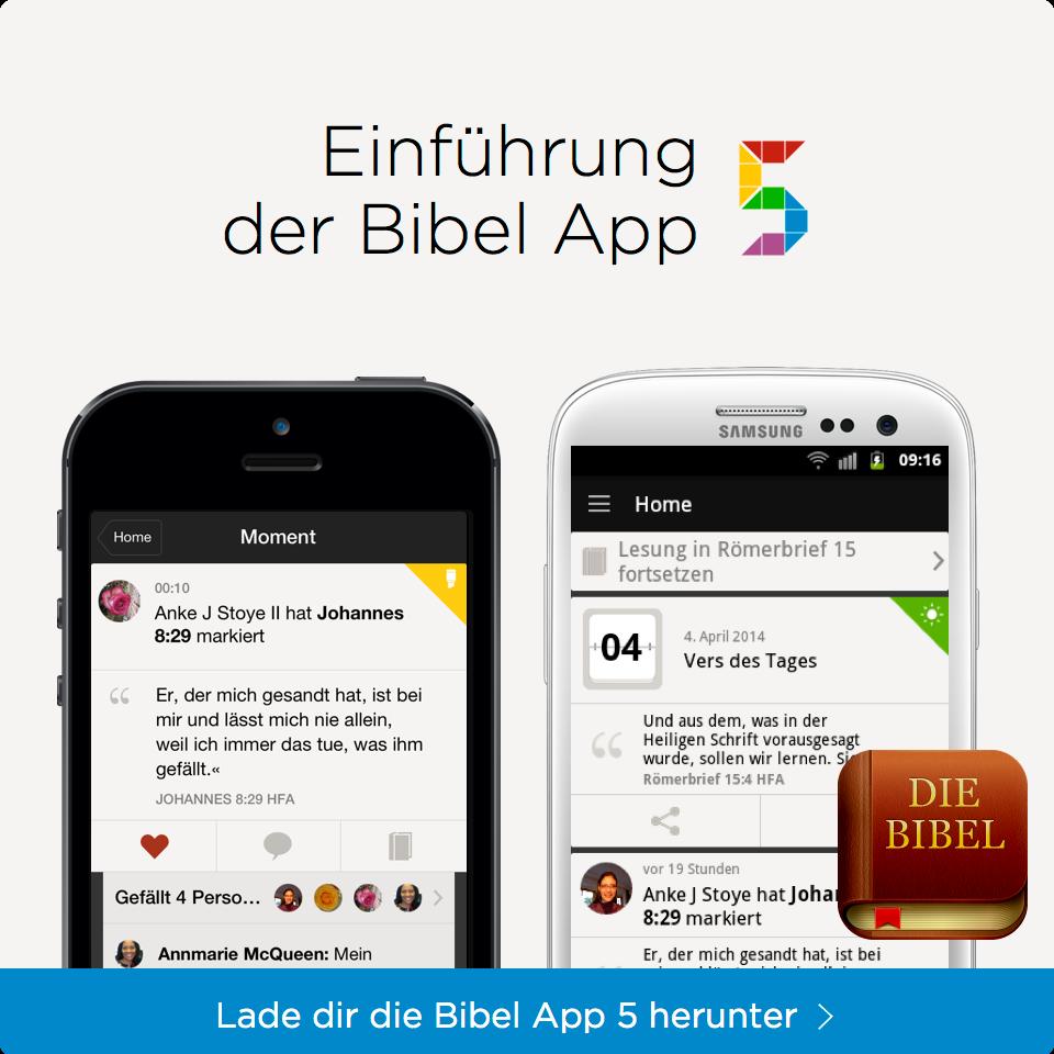Einführung der Bibel App 5