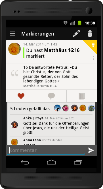 Warum Freundschaften in der Bibel App 5 anders sind