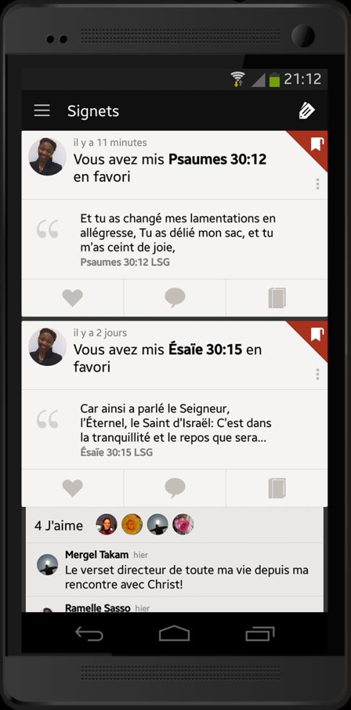 Pourquoi les amitiés dans la Bible App 5 sont-elles  différentes ?