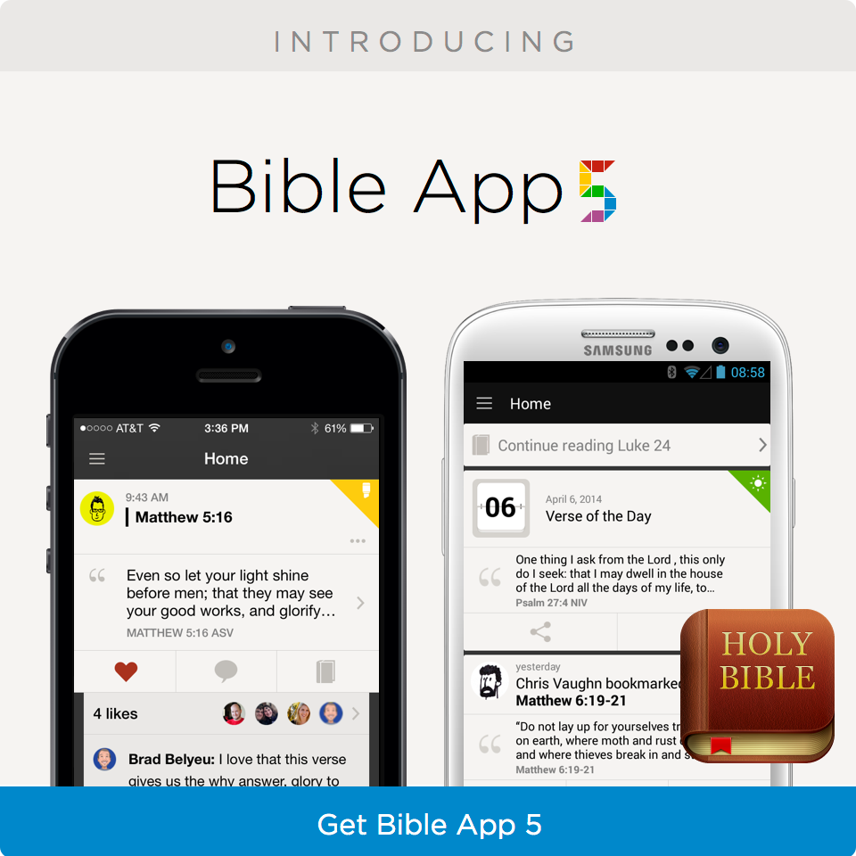 Introducing Bible App 5