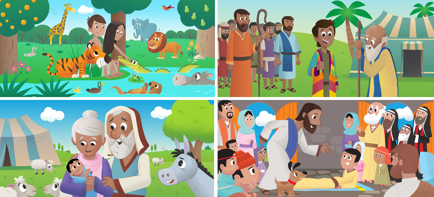 see what u0027s new in the bible app for kids youversion