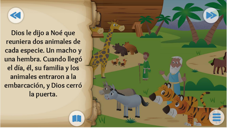 Biblia en Espanol Para Ninos la Biblia App Para ni os