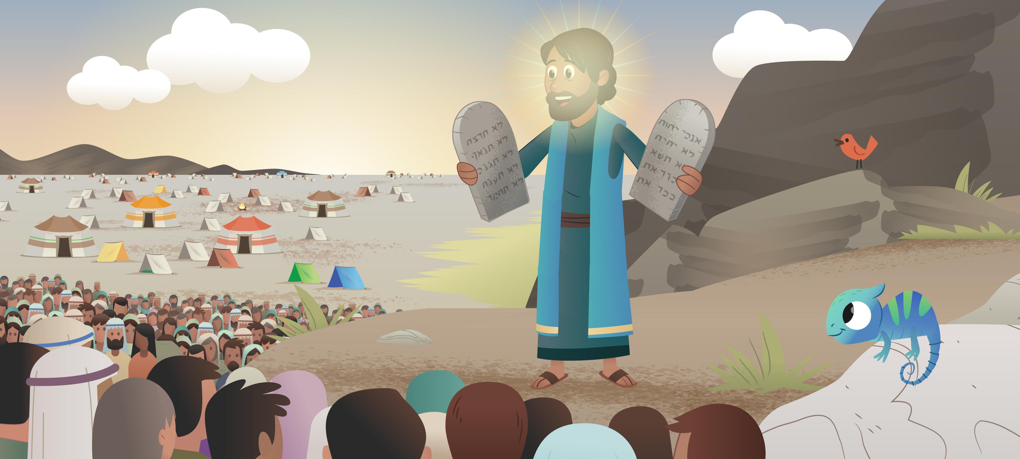 Nueva Historia de la Biblia App para Niños: Abriendo el Mar