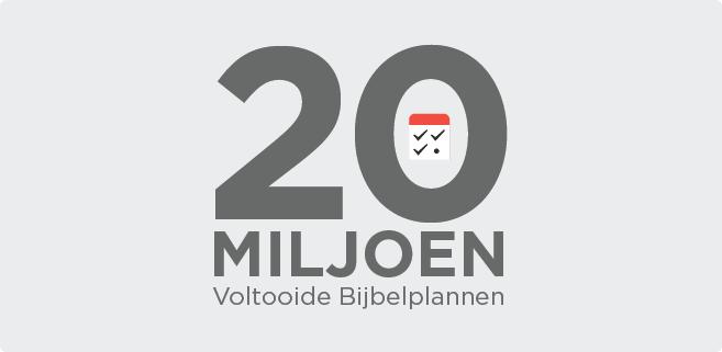 20 miljoen…en je bent nog maar net begonnen…!