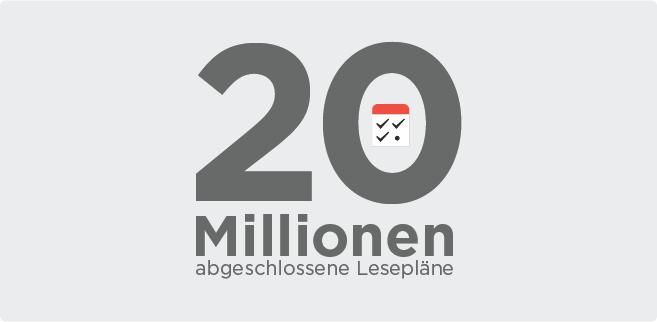 20 Millionen… und es geht gerade erst los!