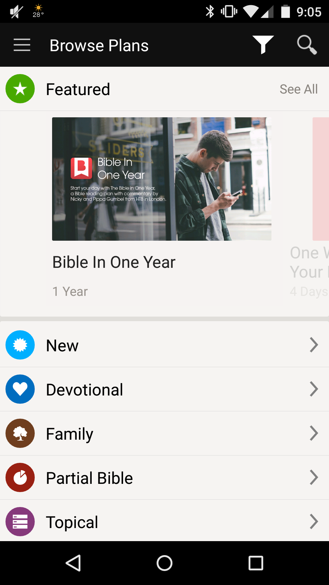 Browse Bible Plans