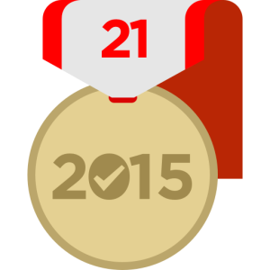 21 Day Challenge Badge 2015