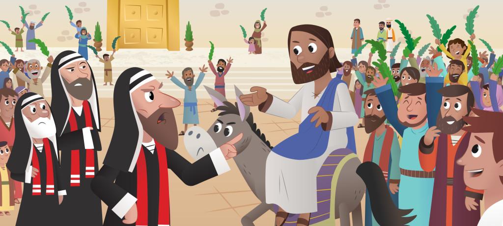 法利赛人妒忌耶稣