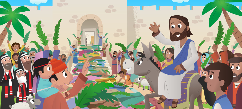 Palm Sunday: The Crowd Welcomes Jesus to Jerusalem