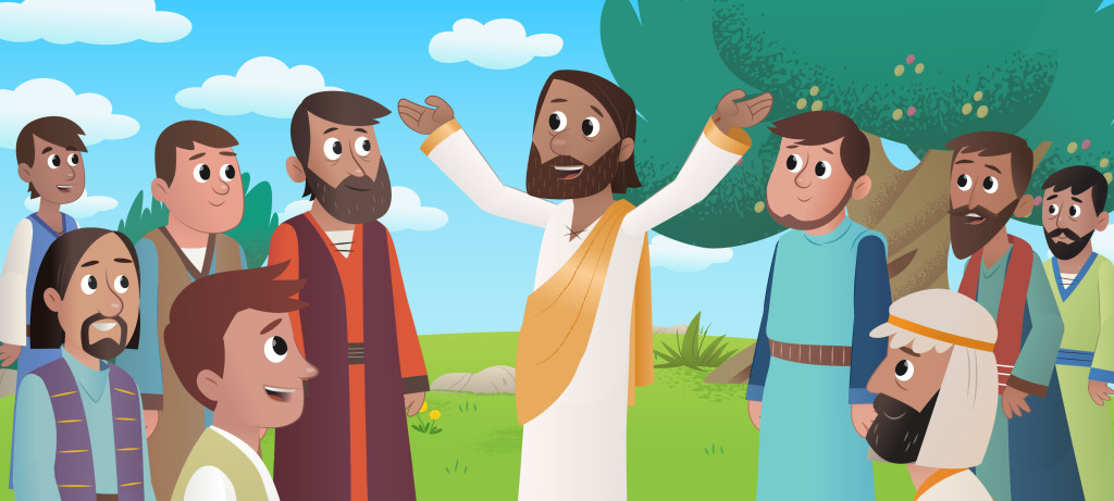 New Bible App For Kids Story Jesus Returns To Heaven