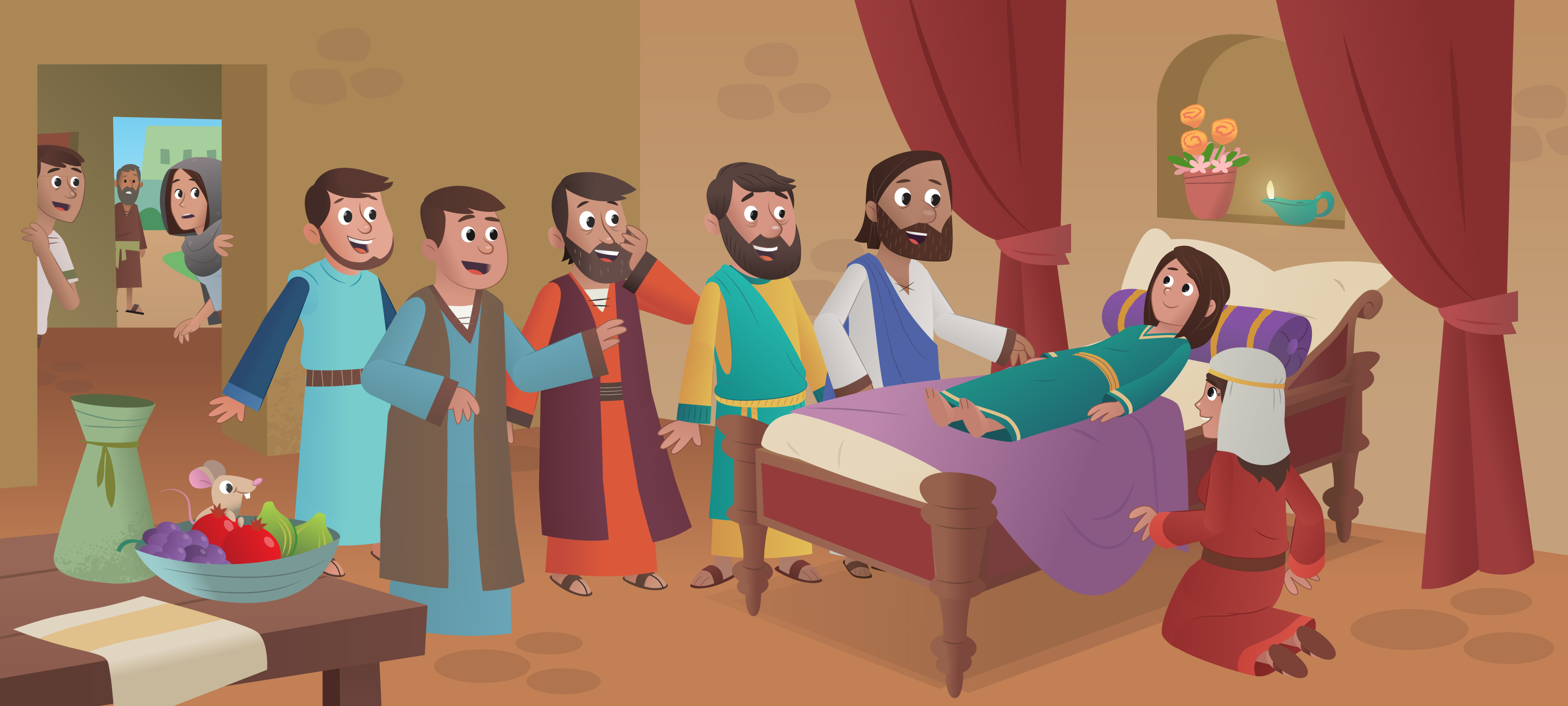 new bible app for kids story jesus heals the daughter of jairus