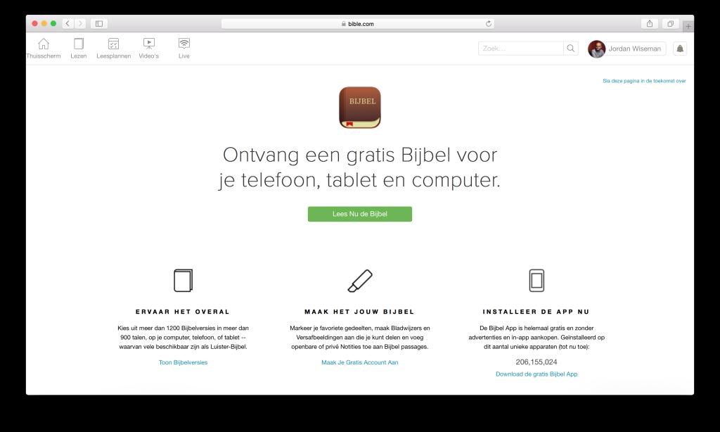 bijbel gratis downloaden