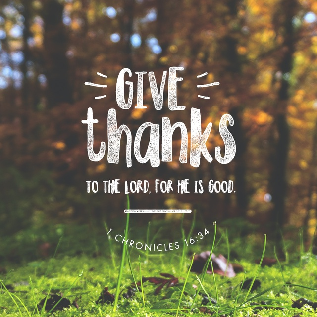 We Have Many Reasons To Give God Thanks.
