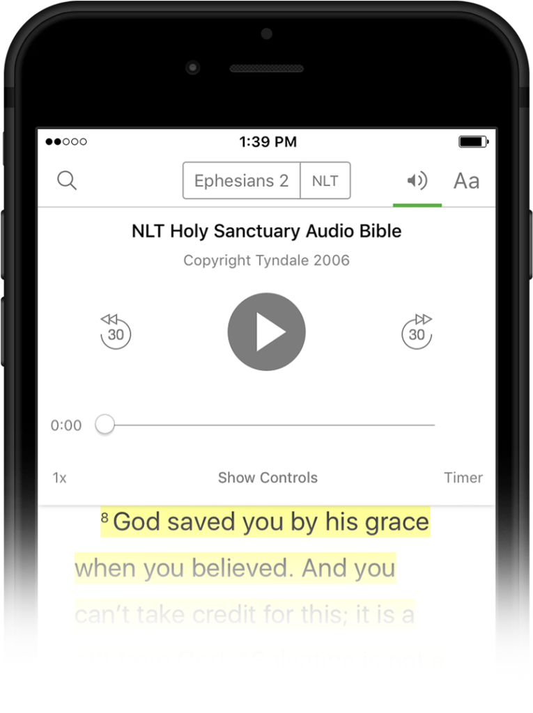 Listen to your Bible  - YouVersion