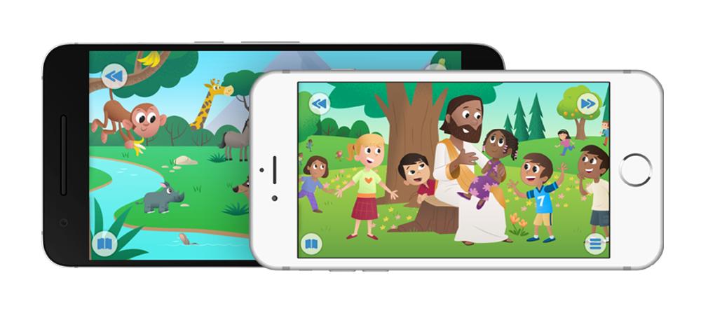 Nå på norsk: Bibelappen for barn!