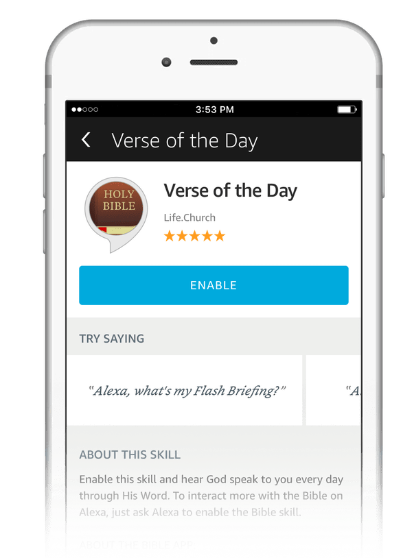 Updated Bible App for Voice: More to try on your Amazon devices