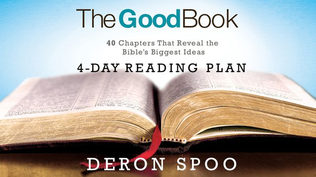Hero artwork for the 4-day Bible Plan The Good Book from pastor and author Deron Spoo