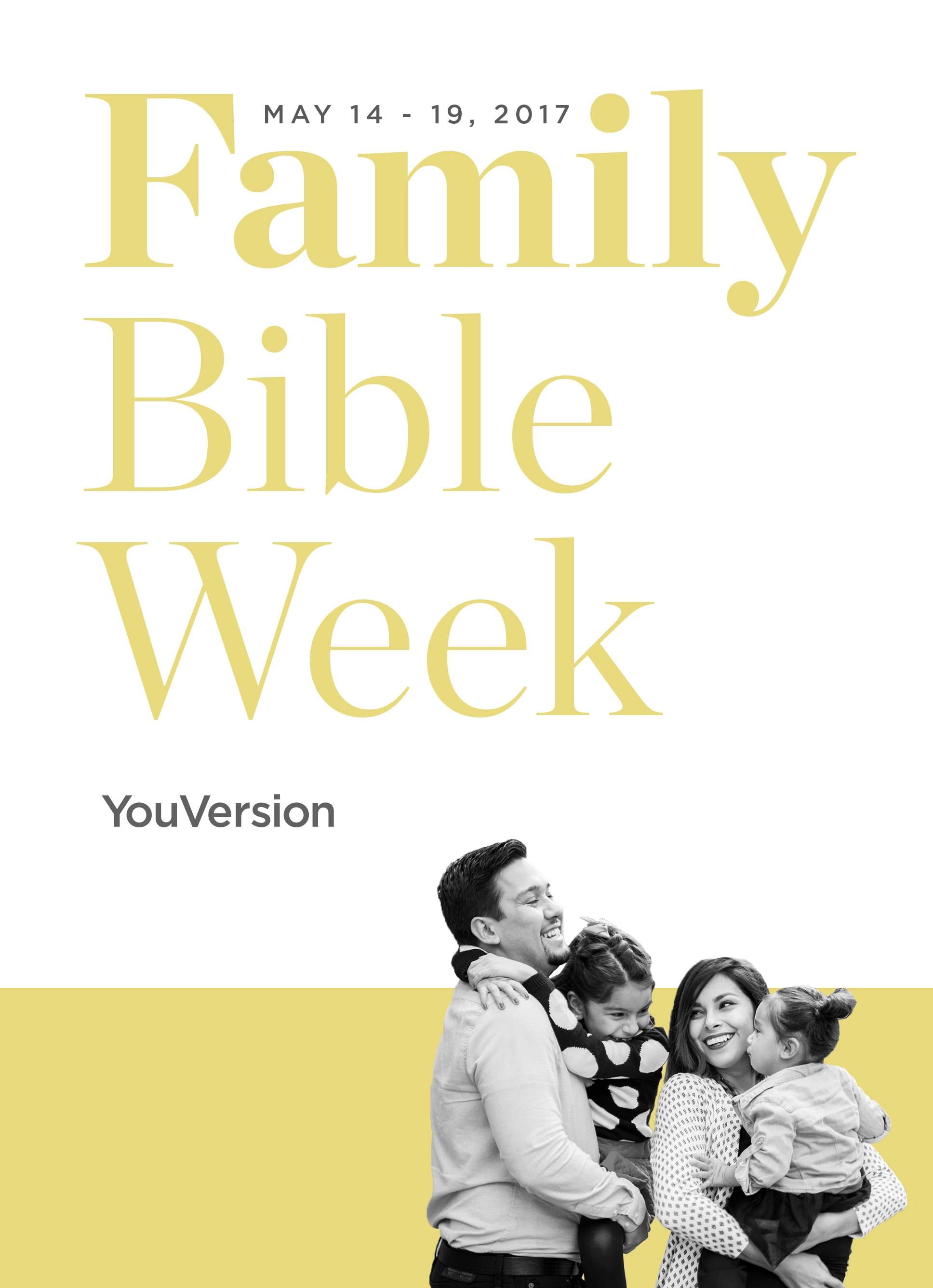 Family Bible Week 2017 Family Bible Plans