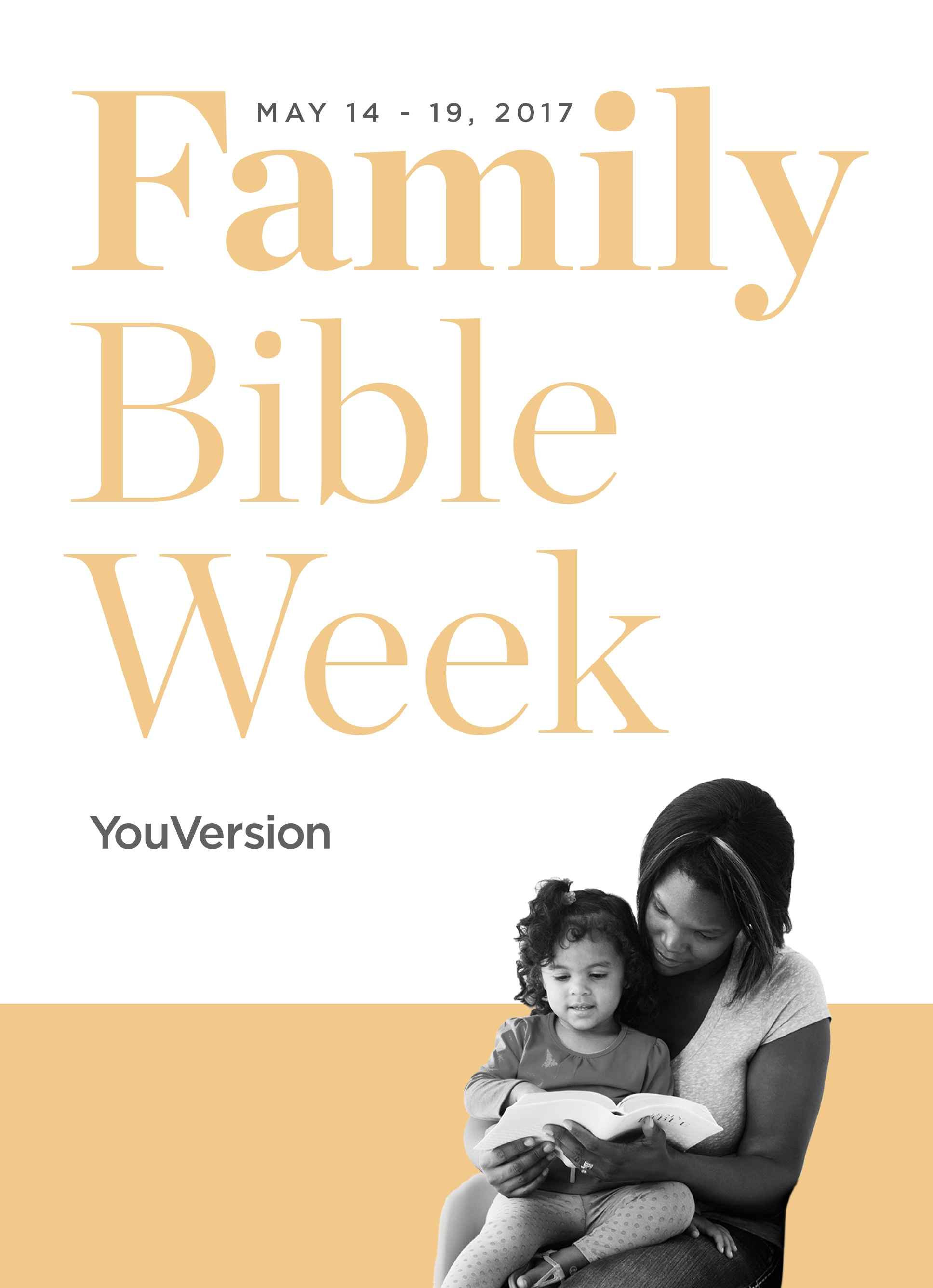 Family Bible Week 2017 Share Your Story