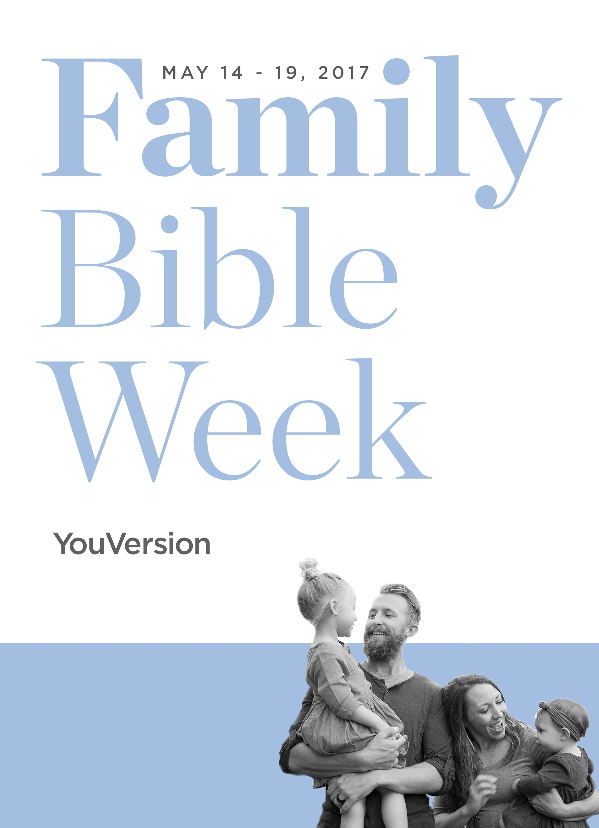 Family Bible Week 2017 Your Family Verse