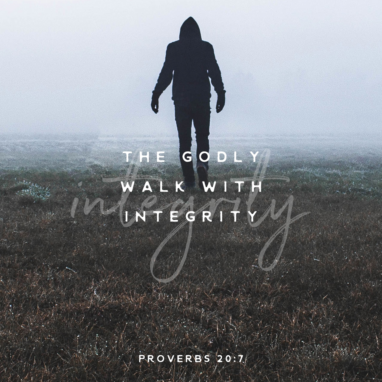 Proverbs 20:7
