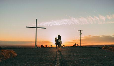 Je kruis opnemen